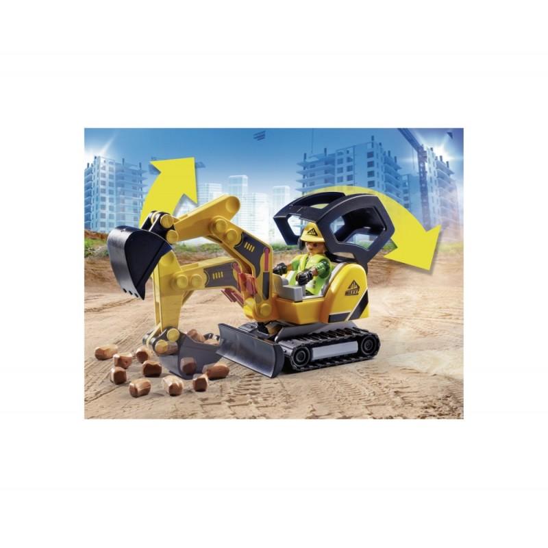 Excavator mic Playmobil