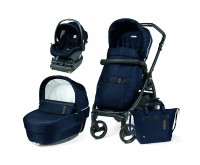 Carucior 3 in 1 Book 51 Rock Navy baza i Size inclusa Peg Perego