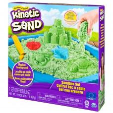 Kinetic Sand Set Complet Verde Spin Master