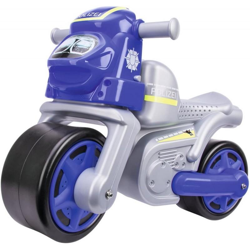 Big Premergator Motocicleta De Politie Cu Roti Din Cauciuc Simba Toys