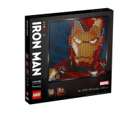 Marvel Studios Iron Man LEGO Art