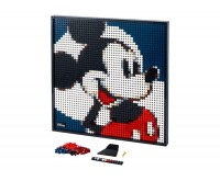 Mickey Mouse LEGO Art