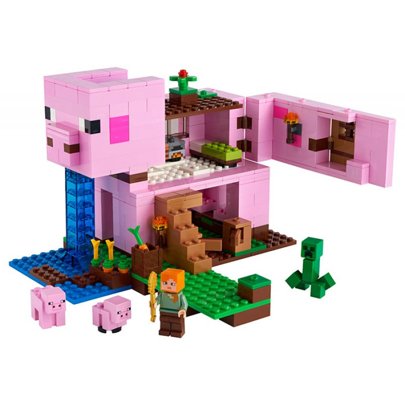 Casuta purcelus LEGO Minecraft