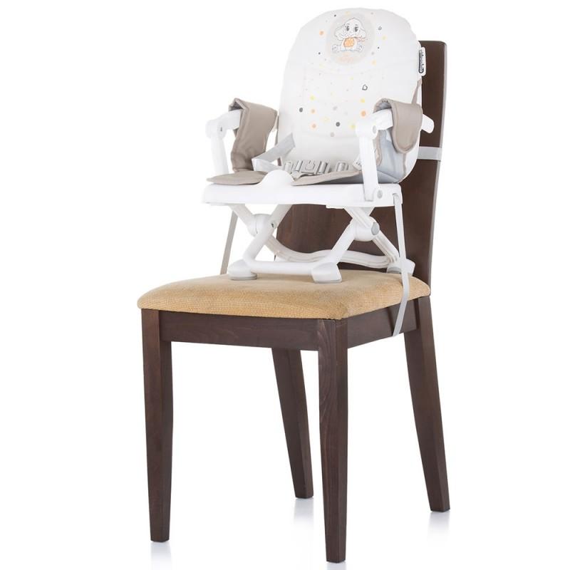 Inaltator scaun de masa Chipolino Lollipop latte