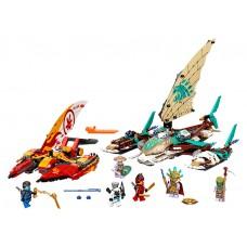 Batalia cu catamarane LEGO Ninjago