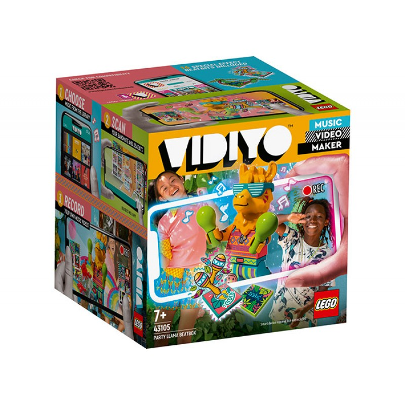 BeatBox Party Llama LEGO VIDIYO