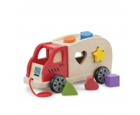 Camion Shape Sorter cu 6 forme New Classic Toys