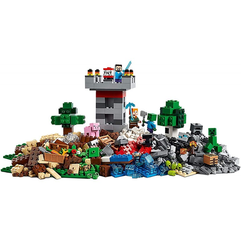 LEGO Minecraft Cutie de crafting 21161