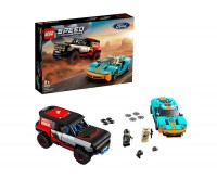 Ford GT Heritage Edition si Bronco R LEGO Speed Champions