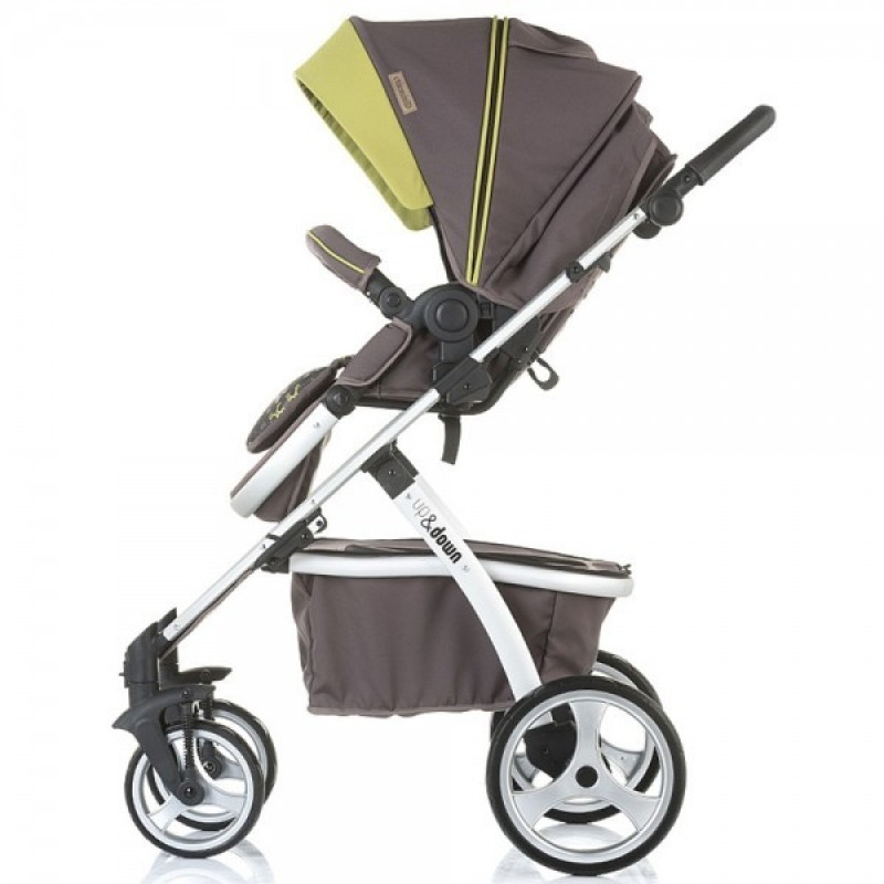 Carucior 3 in 1 Up and Down truffle Chipolino