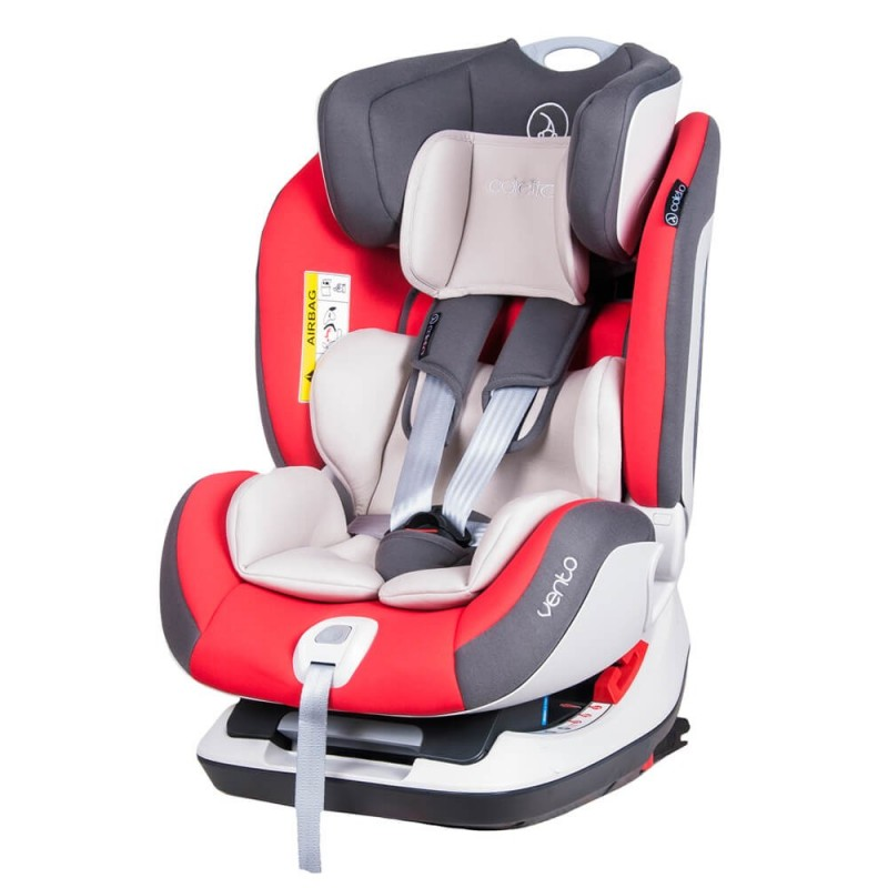 Scaun auto Vento isofix si Top Tether 0 25 kg Grey Coletto