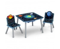 Set masuta multifunctionala si 2 scaunele Space Adventures Delta Children