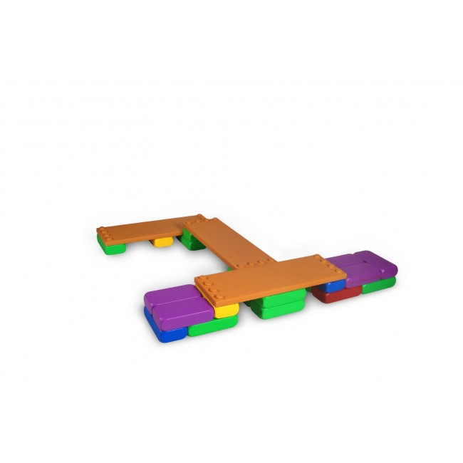 Caramizi mari constructie Edu Play (model B)