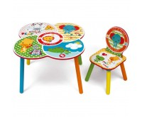 Set masuta multifunctionala si un scaunel It s Giggle Time Fisher Price