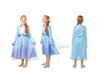 Costum Elsa de calatorie S Frozen 2