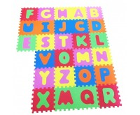 Covor puzzle din spuma Alphabet 26 piese Knorrtoys