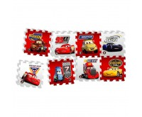 Covor puzzle din spuma Cars 3 Race of a Lifetime 8 piese Knorrtoys