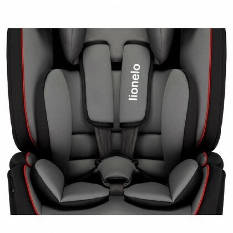 Scaun auto copii 9 36 Kg Levi Simple Sporty Black Lionelo