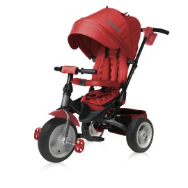 Tricicleta pentru copii Jaguar Air multifunctionala 4in1 Red