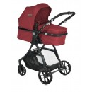 Carucior 2 in 1 transformabil Starlight Red