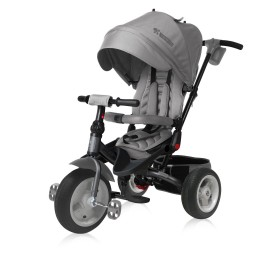 Tricicleta pentru copii Jaguar Air multifunctionala 4in1 Grey