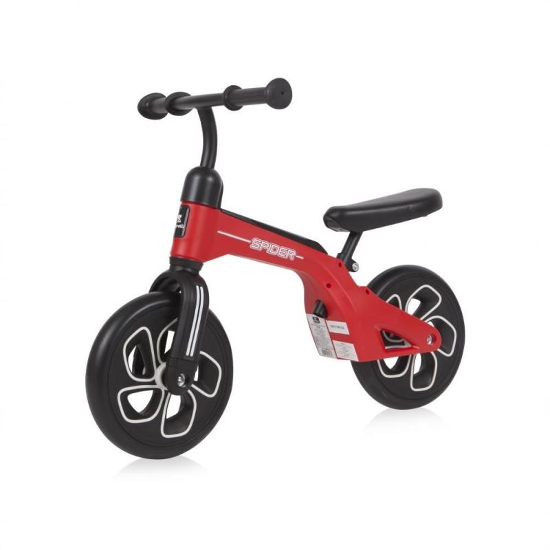 Bicicleta fara pedale Spider Red