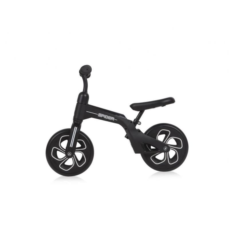 Bicicleta fara pedale Spider Black
