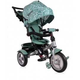 Tricicleta multifunctionala 4 in 1 Neo Air Green Lines