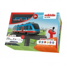 Tren de calatori cu telecomanda si accesorii Airport Express Marklin