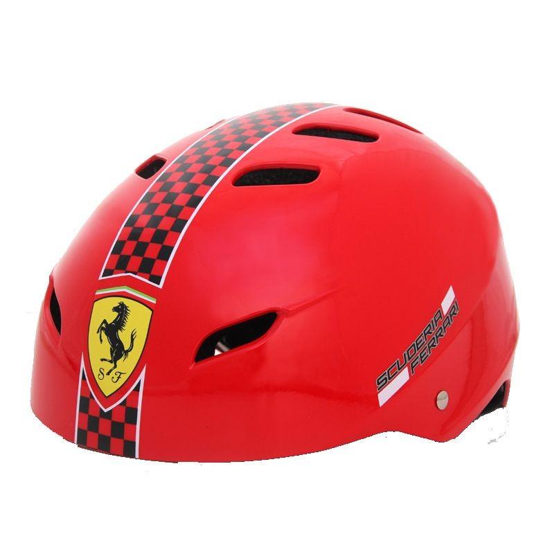 Casca protectie Ferrari marimea S culoare rosie Mesuca