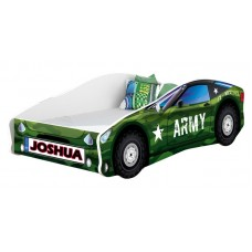 Pat Tineret MyKids Race Car 07 Army140x70