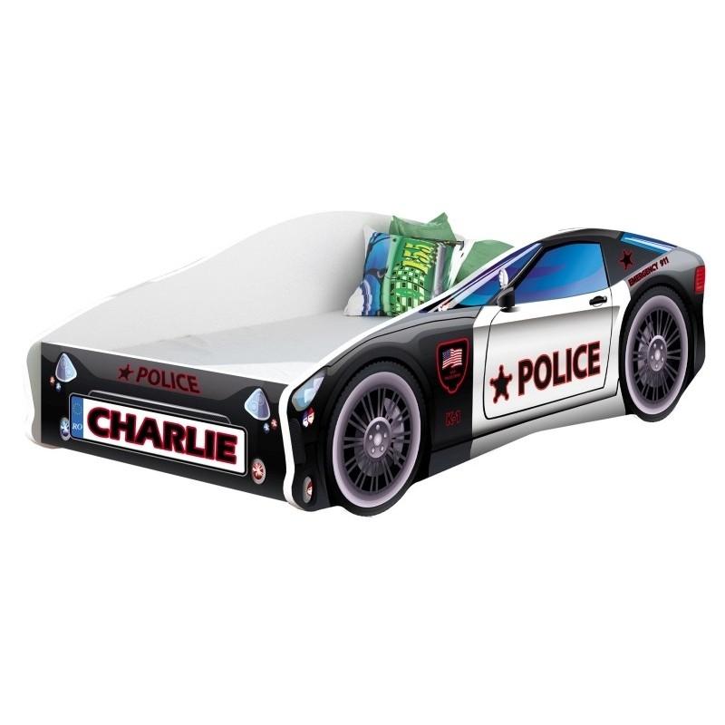 Pat Tineret MyKids Race Car 03 Police140x70