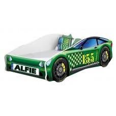 Pat Tineret MyKids Race Car 04 Green 140x70