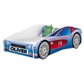 Pat Tineret MyKids Race Car 02 Blue160x80