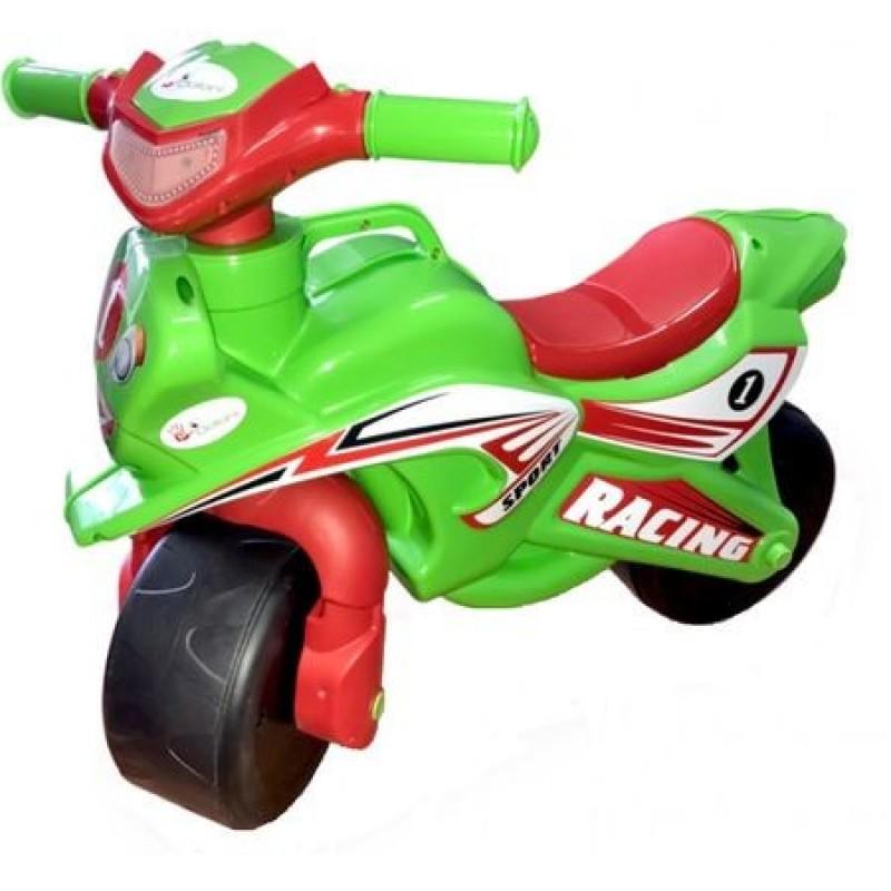 Motocicleta de impins Racing 0139/5 Verde/Rosu MyKids