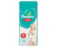 Scutece chilotel Pampers Pants Jumbo Pack Marimea 5  12 17 kg 48 buc