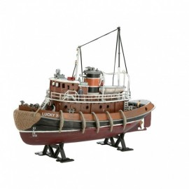 HARBOUR TUG BOAT MODEL SET REVELL
