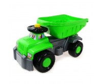 Camion basculant Carrier green Super Plastic Toys