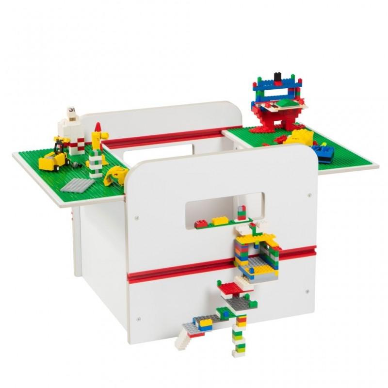 Cutie depozitare pentru jucarii cu display pentru constructii Lego Worlds Apart