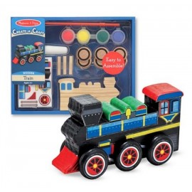 Melissa Doug Decorati va Locomotiva
