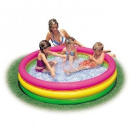 Piscina Sunset Glow 3 Inele Intex