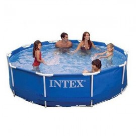 Piscina cu Cardu Metalic Intex