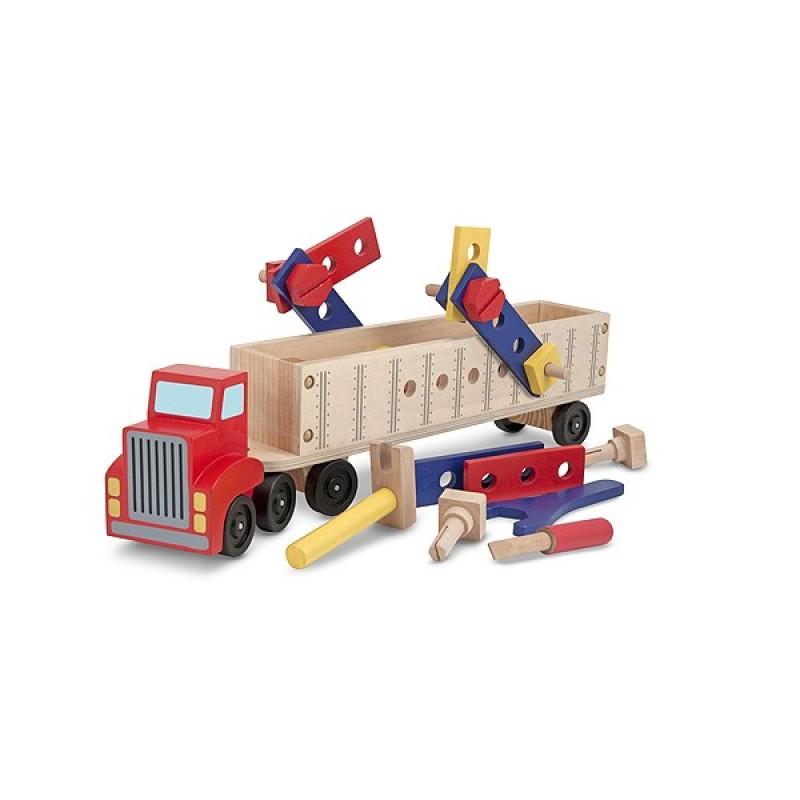 Banc de lucru mobil Camion cu unelte Melissa Doug