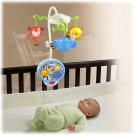 Carusel cu Proiector Twinkling Lights Fisher Price