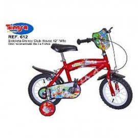 BICICLETA 12 MICKEY MOUSE CLUB HOUSE BAIETI TOIMSA