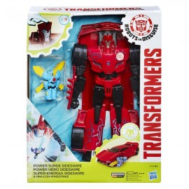 Transformers Robots in Disguise Power Surge Sideswipe