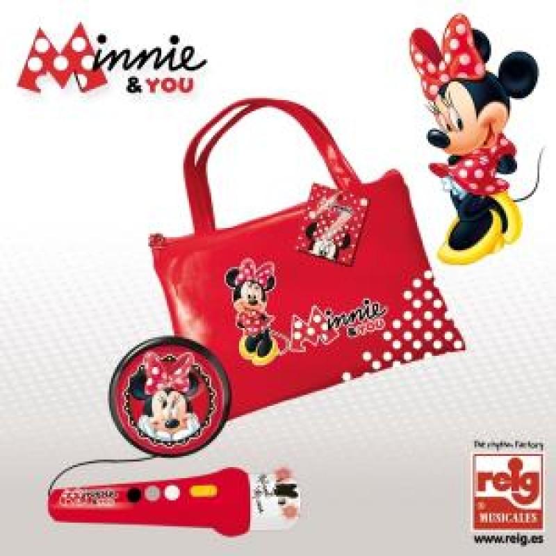 Geanta cu microfon si amplificator Minnie Mouse Reig Musicales