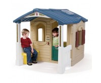 Casuta cu pridvor Naturally Playful Front Porch Playhouse