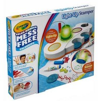 Set Stampile cu Lumini Color Wonder Light Up Stamper Crayola