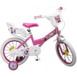 Bicicleta 16 Minnie Mouse